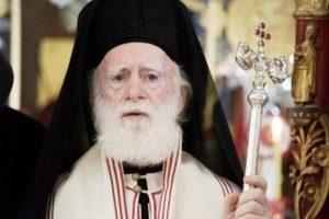 Βγήκε από την ΜΕΘ ο Αρχιεπίσκοπος Ειρηναίος – Νοσηλεύεται στην Νευρολογική Κλινική