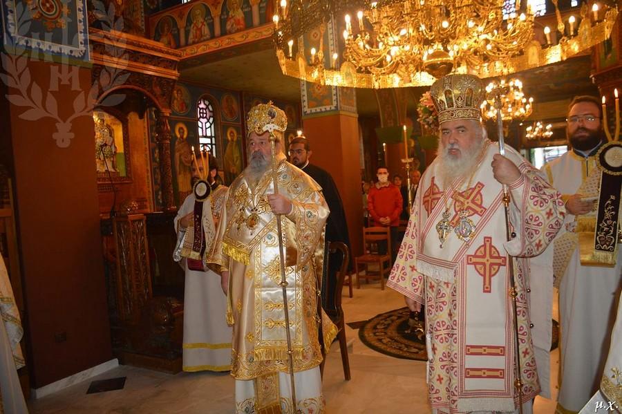 Αρχιερατικό Συλλείτουργο για τον Άγιο Αθανάσιο τον Τραπεζούντιο στο Ωραιόκαστρο