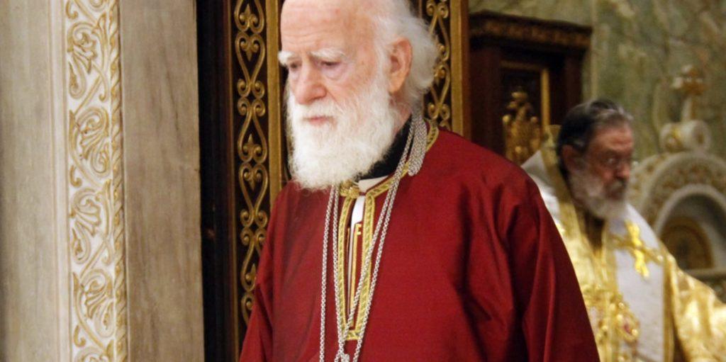 Έβγαλε για μια ώρα τον αναπνευστήρα ο Αρχιεπίσκοπος Κρήτης Ειρηναίος
