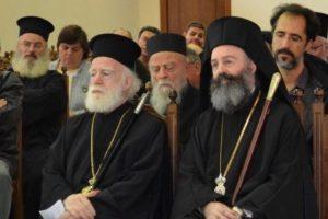 Ο Αρχιεπίσκοπος Αυστραλίας Μακάριος επισκέφθηκε τον Αρχιεπίσκοπο Κρήτης Ειρηναίο