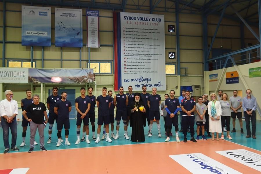 Σύρου Δωρόθεος: H Εκκλησία αποδέχεται και στηρίζει τον πρωταθλητισμό, στο πρόσωπο των δικών της Πρωταθλητών, των Αγίων Μαρτύρων