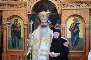 Φθιώτιδος Συμεών: «Ήλθα να τιμήσω μια ευλογημένη ψυχή που διακόνησε έναν μεγάλο εκκλησιαστικό άνδρα».