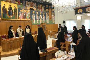 Αποφάσεις ΔΙΣ – «Χλιαρή» στήριξη σε Κερκύρας Νεκτάριο