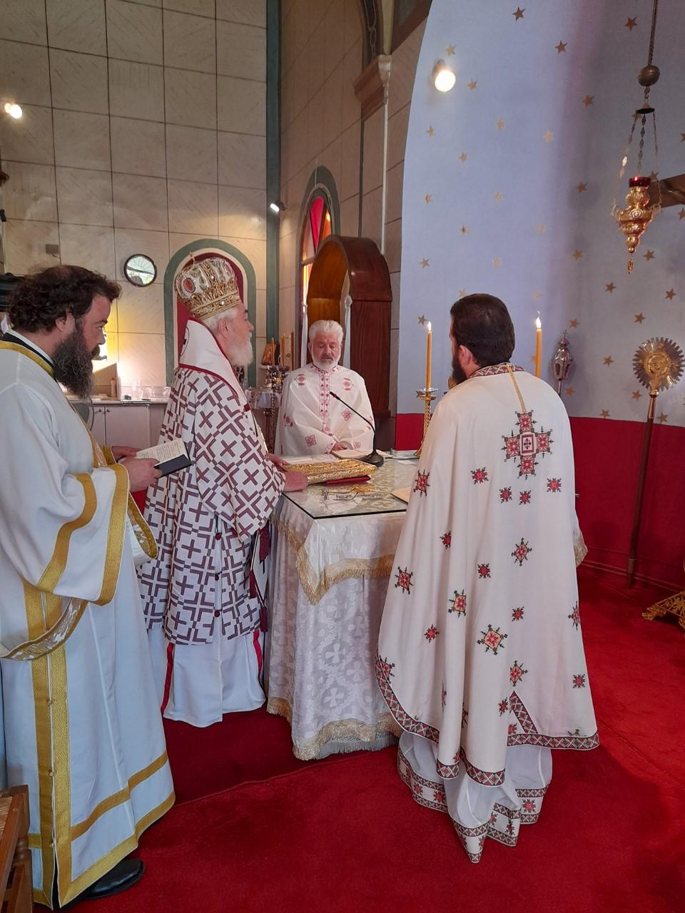 Μητροπολίτης Φωκίδος κ. Θεόκτιστος: Η στάση του χριστιανού μέσα στην εκκλησία