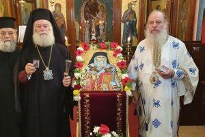 Ο Αλεξανδρείας Θεόδωρος τίμησε τον Προστάτη του Πατριαρχείου Άγιο Νεκτάριο