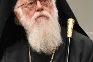 Το πρώτο ιατρικό ανακοινωθέν από τον Ευαγγελισμό για την υγεία του Αρχιεπισκόπου Αλβανίας  Αναστασίου