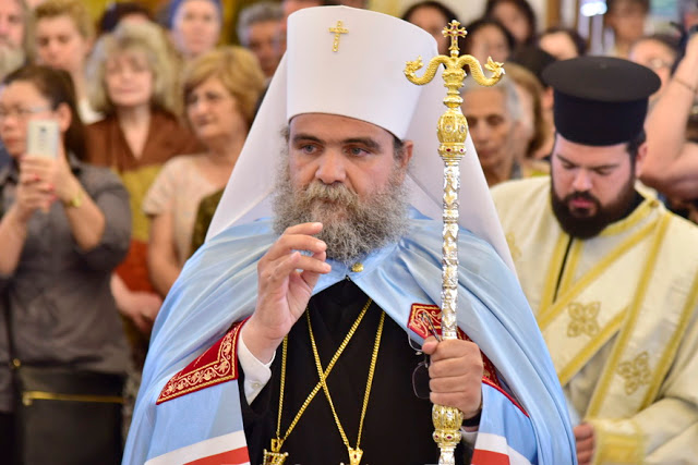 Ο Μητροπολίτης Ταμασού  «προσπαθεί» να απαντήσει στα όσα είπε στη συνέντευξή του ο Αρχιεπίσκοπος Κύπρου με… θεολογικά επιχειρήματα αλλά για την ουσία του θέματος ούτε λόγος!