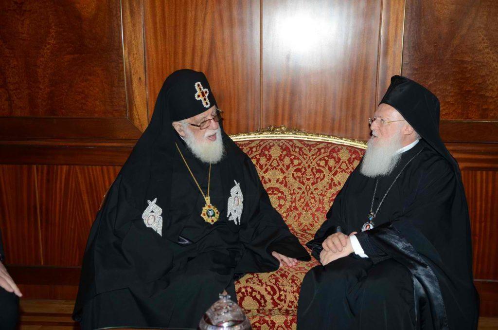 Οικουμενικός Πατριάρχης: «Ο Θεός να ενισχύσει τους ιατρούς της Γεωργίας»
