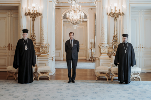 Ο Βελγίου Αθηναγόρας στον Μεγάλο Δούκα του Λουξεμβούργου