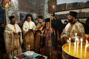 Μνημόσυνο για τους Πατριάρχες Ιεροσολύμων