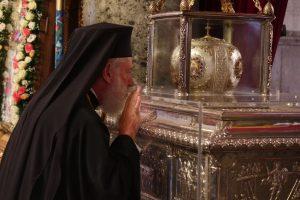 Δοκιμάζεται η πίστη, η υπομονή και η επιμονή μας! – Ο Μητρ. Σύρου στον Ι.Ν. του Αγ. Δημητρίου Θεσσαλονίκης