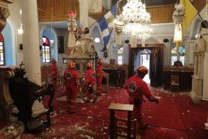 """Τεράστια καταστροφή στην Σάμο: """"Το 80% των Ιερών Ναών είναι σεισμόπληκτοι και εσίγησαν προς στιγμήν"""""""