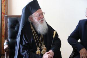 Εξιτήριο παίρνει ο Αρχιεπίσκοπος Αλβανίας Αναστάσιος