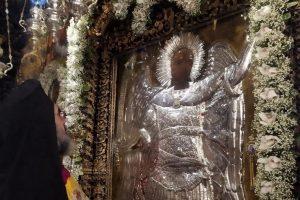 Πανηγύρισε η Ιερά Μονή Πανορμίτου στη Σύμη τον θαυματουργό Ταξιάρχη Μιχαήλ