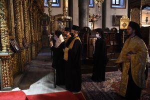 Πατριαρχικό Τρισάγιο για τους αειμνήστους Πατριάρχη Αλεξανδρείας Πέτρο, Αρχιεπίσκοπο Αυστραλίας Στυλιανό και Μητροπολίτη Καισαρείας Πέτρο