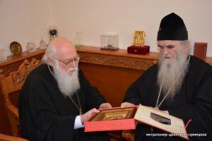 Ο Αλβανίας Αναστάσιος για την εκδημία του Μητροπολίτου Μαυροβουνίου κυρού Αμφιλοχίου
