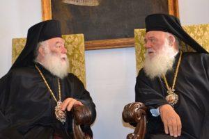Θερμή επιστολή Πατριάρχου Αλεξανδρείας προς τον Αρχιεπίσκοπο Ιερώνυμο για ταχεία ανάρρωση