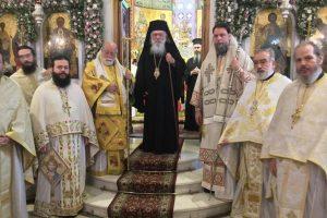Εορτή Μητροπολιτικού Ναού Αγίων Αναργύρων Νέας Ιωνίας παρουσία του Αρχιεπισκόπου Αθηνών