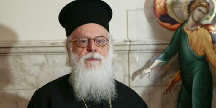 Ο Ευαγγελισμός για την υγεία του Αρχιεπισκόπου Αλβανίας  Αναστασίου