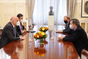 Συνάντηση ΥΠΕΞ με τον Πολιτικό Διοικητή του Αγίου Όρους
