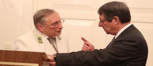 Ο προκλητικότατος Ρώσος πρέσβης στην Κύπρο Στανισλάβ Οσάτσι