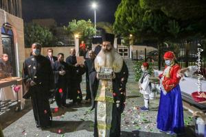 Παρηγορία ο Άγιος Νεκτάριος για τους πιστούς της Ι. Μητεοπόλεως Φθιώτιδος , λίγο πριν το Lockdown