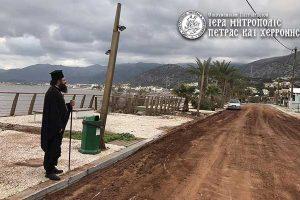 ΚΡΗΤΗ: Τις πληγείσες περιοχές επισκέφθηκε ο Πέτρας Γεράσιμος