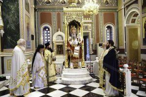 Εορτασμός του θαύματος του Αγίου Σπυρίδωνος κατά των Παπικών στην Ι.Μ. Πειραιώς