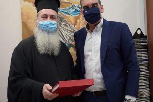 Συνάντηση Δημάρχου Ελληνικού – Αργυρούπολης Γιάννη Κωνσταντάτου με τον Μητροπολίτη Κεφαλληνίας κ. Δημήτριο.