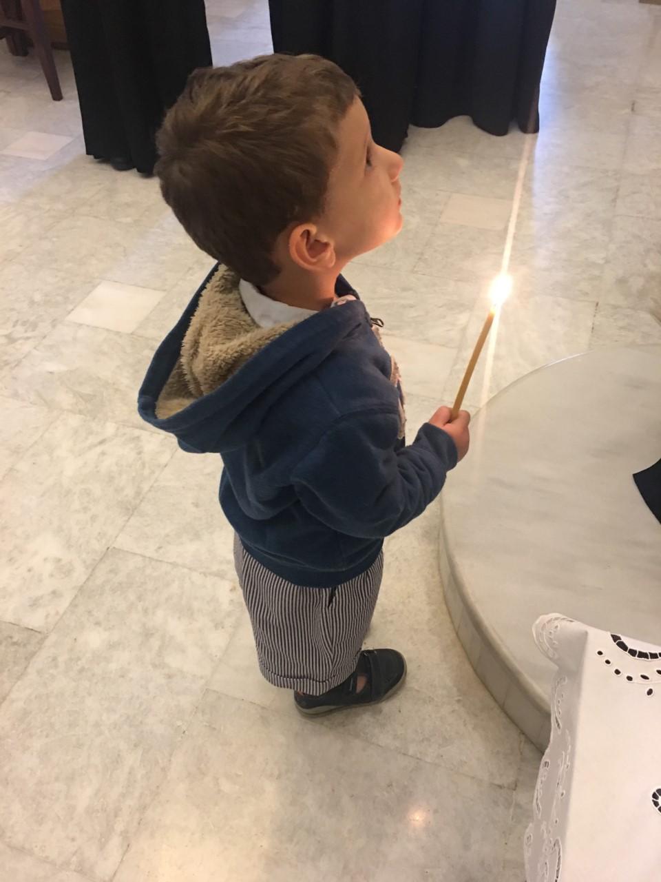Ένα παιδί πιστεύει…