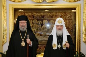 Άθλια παρέμβαση της  Ρωσίας  στην Εκκλησία της  Κύπρου