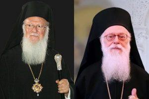 Ευχές του Οικουμενικού Πατριάρχη προς τον ασθενή Αρχιεπίσκοπο Αλβανίας