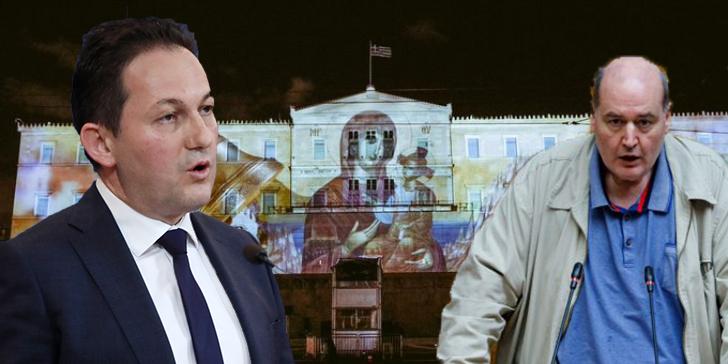 You are currently viewing Η απάντηση της κυβέρνησης στην αντίδραση ΣΥΡΙΖΑ  για την προβολή του βίντεο στη Βουλή
