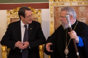 Ο Πρόεδρος της Κύπρου κ. Αναστασιάδης «απορρίπτει» με δήλωσή του τα  όσα ανέφερε ο Αρχιεπίσκοπος Κύπρου  για λύση δύο κρατών