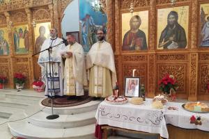 Τριετές μνημόσυνο για τον μακαριστό ιερέα του Δυρραχίου π. Σπυριδωνα Τόλα