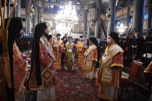 Σε κατανυκτική ατμόσφαιρα ο εορτασμός των Χριστουγέννων στο Φανάρι
