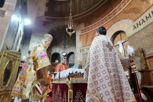 Η πανήγυρις του Μητροπολιτικού Ναού του Αγίου Στεφάνου Παρισίων