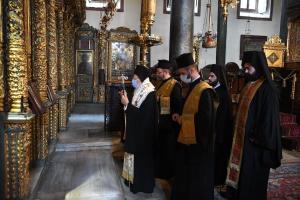 Πατριαρχικό Τρισάγιο για τον μακαριστό Μητροπολίτη Καστορίας Σεραφείμ