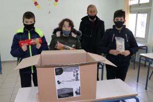Μαθητές μαζεύουν τρόφιμα για το συσσίτιο της Μητρόπολης Αργυροκάστρου