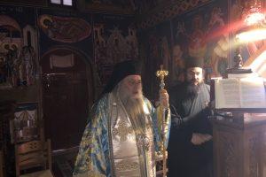 Θεία Λειτουργία στην Ι.Μ. Κοιμήσεως Θεοτόκου Φανερωμένης Νάξου από τον Σεβ. Παροναξίας Καλλίνικο