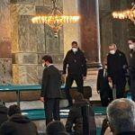 Τουρκία: Νέο σόου Ερντογάν – Πήγε να προσευχηθεί στην Αγιά Σοφιά