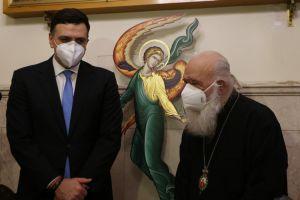 """Αρχιεπίσκοπος Ιερώνυμος: """"Αν δεν είχα νοσήσει θα εμβολιαζόμουν πρώτος"""""""