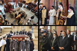 Με δόξα και τιμή η Εξόδιος Ακολουθία του μακαριστού Μητροπολίτη Πηλουσίου κυρού Νήφωνος στο Κάιρο.