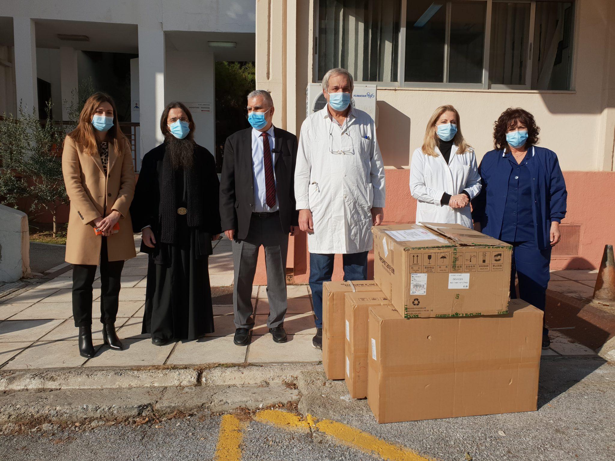 Εξειδικευμένα μηχανήματα στα νοσοκομεία της πόλης από την Ι.Μ. Αγίας Θεοδώρας Θεσσαλονίκης