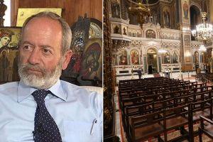 ΚΥΠΡΟΣ: Σκληρή κριτική από τον Ιατροδικαστή Μάριο Ματσάκη – Μόνο αντίχριστοι κλείνουν τις εκκλησίες…