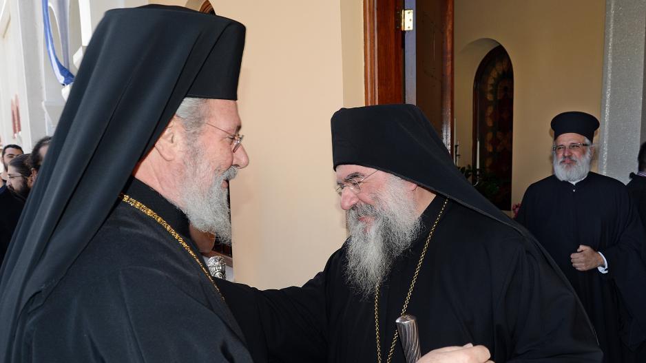 You are currently viewing Ανοίκειο ξέσπασμα του Λεμεσού Αθανασίου κατά του Αρχιεπισκόπου Κύπρου: «Λυπάμαι πολύ για το κατάντημα του θεσμού και της θέσεως του Αρχιεπισκόπου»
