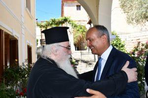 """Καράογλου: """"Ο Μακαριστός Σεραφείμ ήταν ακοίμητος φύλακας των Καστοριανών"""""""