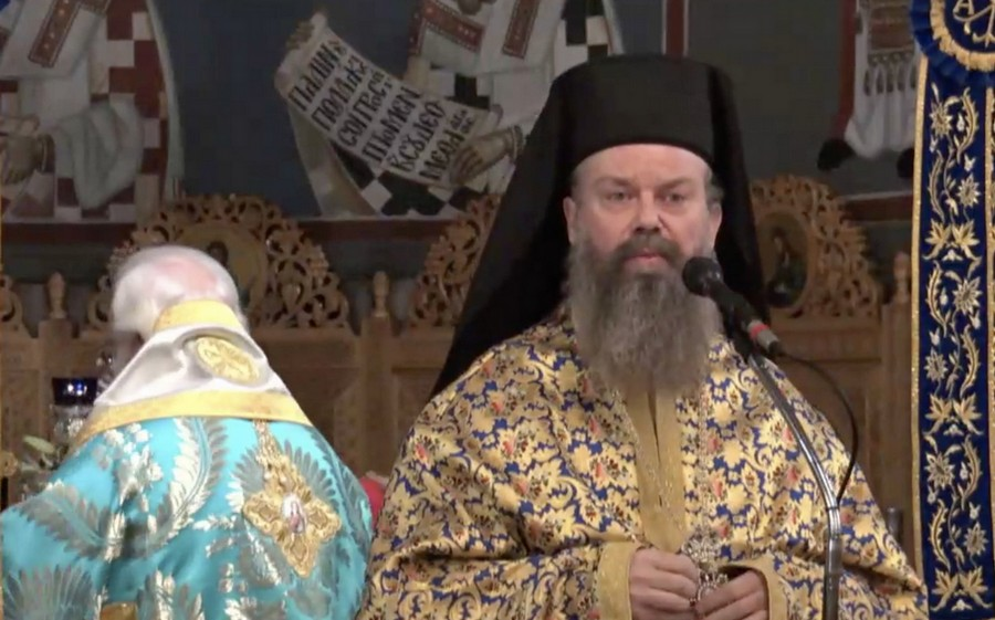 Το κείμενο με την συγκινητική ομιλία του Αρχιμ. Επιφανίου Οικονόμου (που θύμισε Χριστόδουλο)ανήμερα του Αγίου Νικολάου στον Βόλο