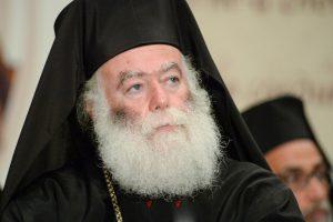 """Πατριάρχης Αλεξανδρείας: """"Η Εκκλησία μόνον σώζει και ουδέποτε σώζεται από εμάς"""""""