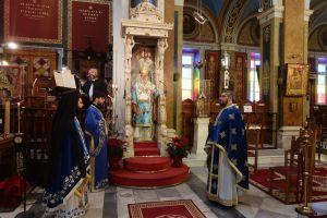 Με καρδιακή προσευχή και παρουσία νοερή οι Συριανοί τίμησαν τον Άγιο Νικόλαο